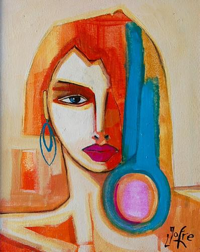 Rostro - The Blue Earring