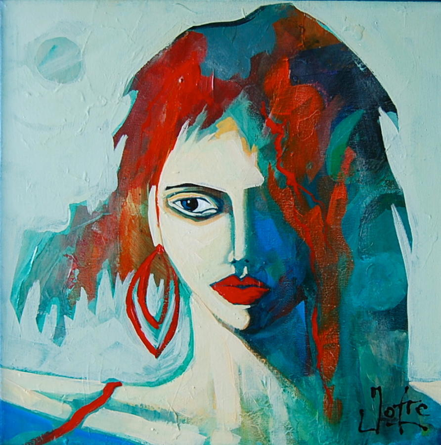 Rostro - The Red Hoop