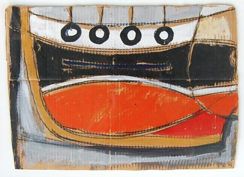 Alan Smart - Orange Dinghy