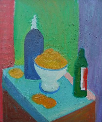 Juan Grela - Still Life with Oranges