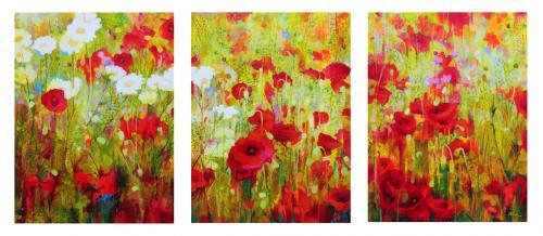 Poppyfield Triptych
