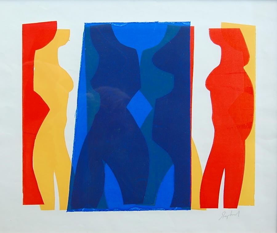 Toby Horne Shepherd - Figures in Profile