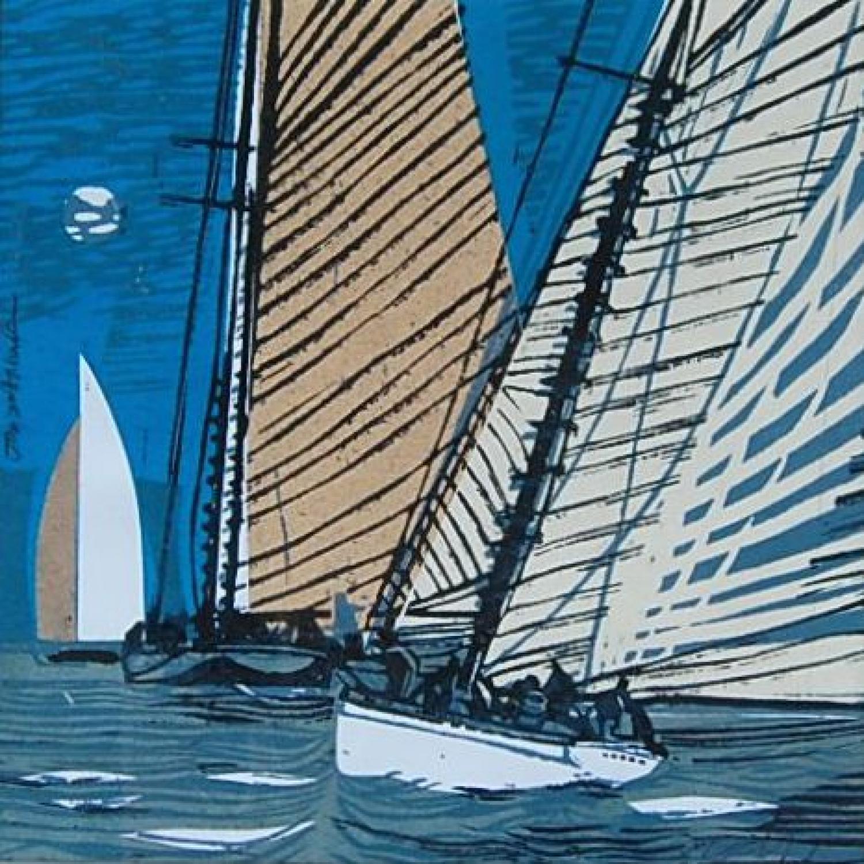 Mariette Sails into the Sunset