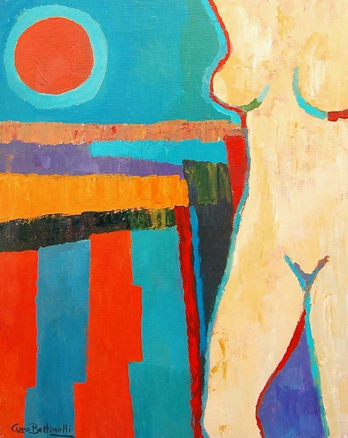 Manuel Claro Bettinelli - Nude in Sunshine   SOLD