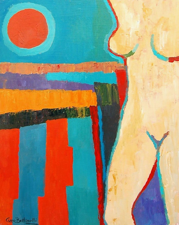 Manuel Claro Bettinelli - Nude in Sunshine   SOLD