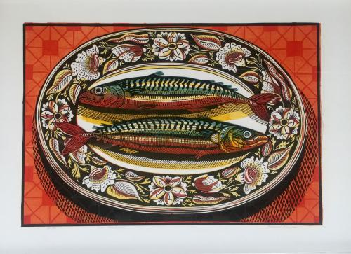 Richard Bawden - Two Mackerel