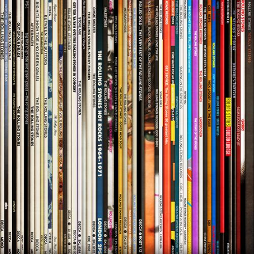 Spines #3 - The Rolling Stones