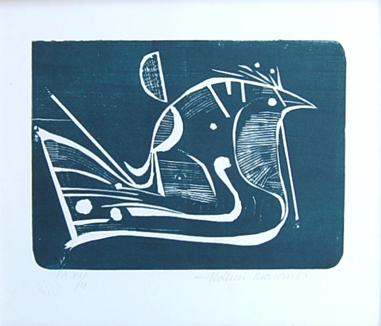 Aldemir Martins - Abstract Bird