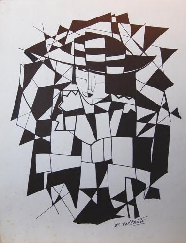 (After) Emilio Pettoruti - Monochrome Woman