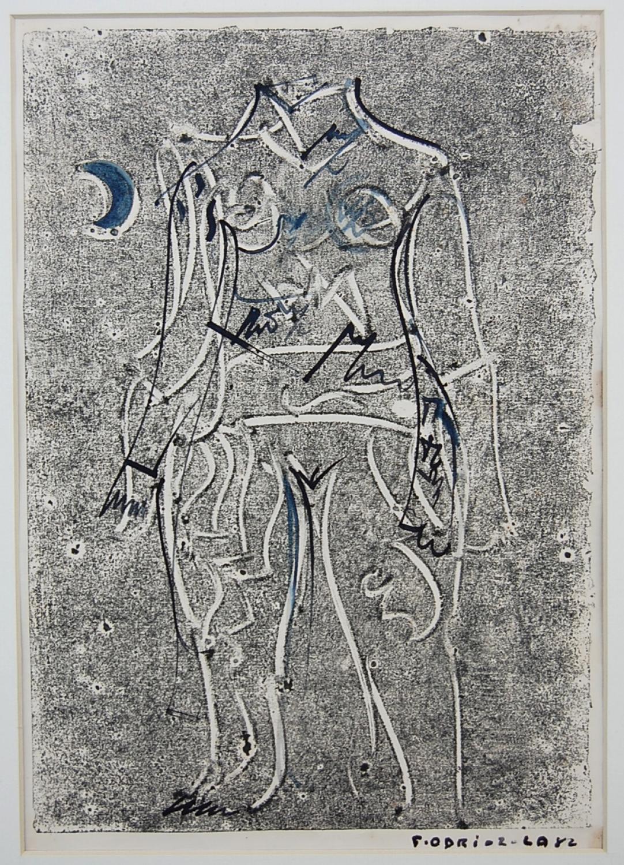 Fernando Odriozola - Lunar Nude