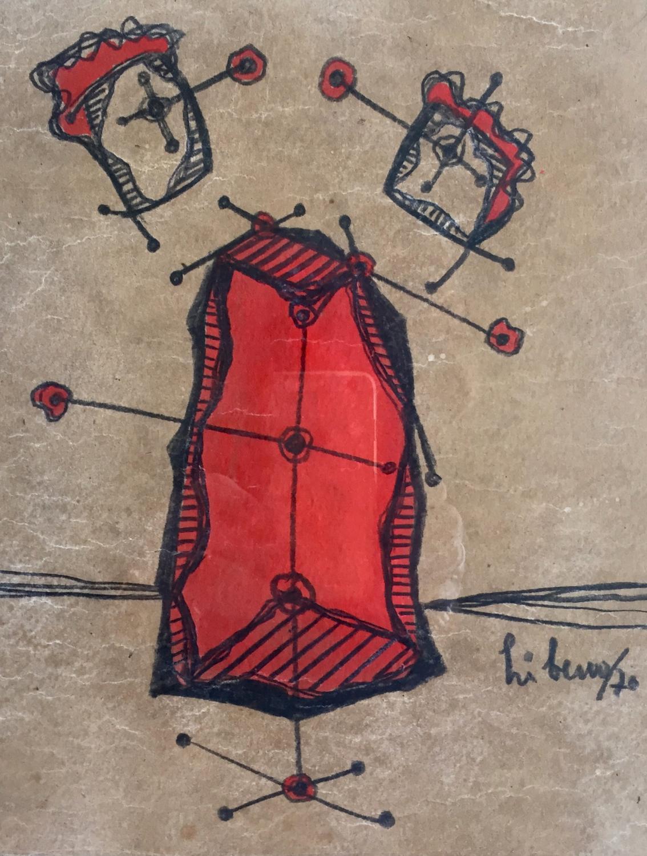 Líbero Badíi - Red Mannequin
