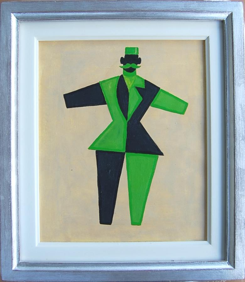 Harlequin Gentleman - Green