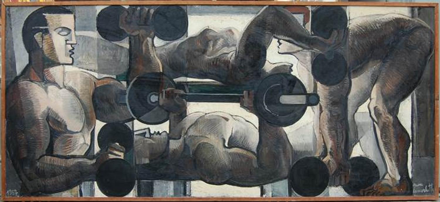 Jean Lamorlette - The Gymnasium