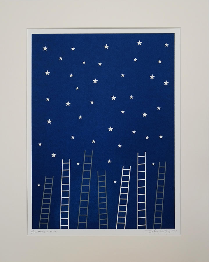 Lene Bladbjerg - Trying to Reach the Stars