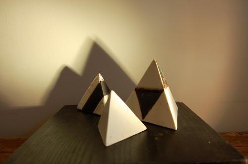 Gillian Clarke - Trio of Triangles