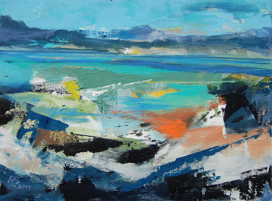 Angus Stirling - Hebridean Coast