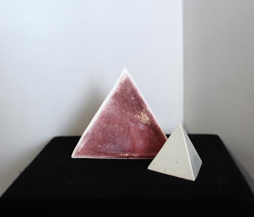 Gillian Clarke - Pyramid Pair