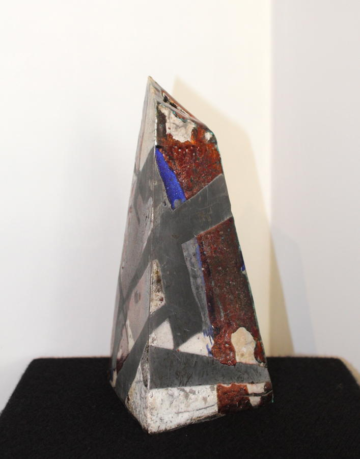 Gillian Clarke - Tower in Bronze