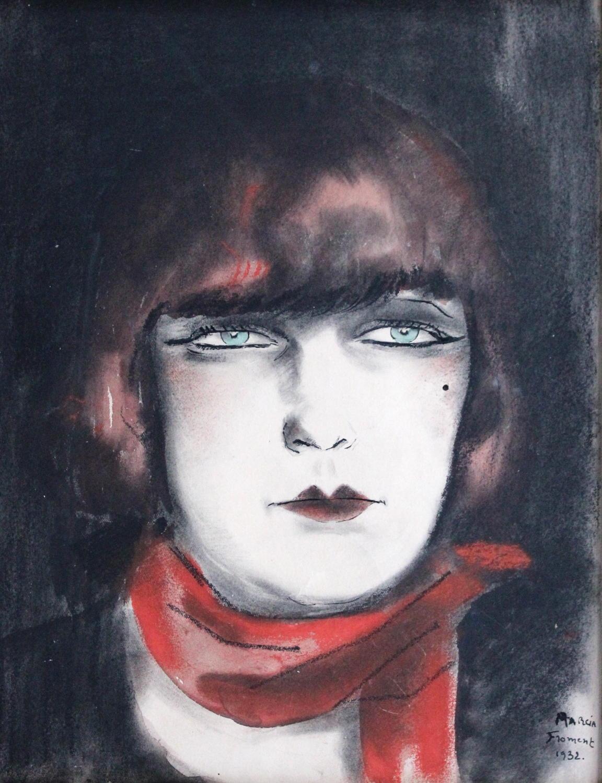 Marcia Floment - l'Echarpe Rouge