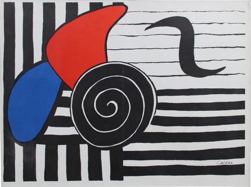 Alexander Calder - Exhibition Poster