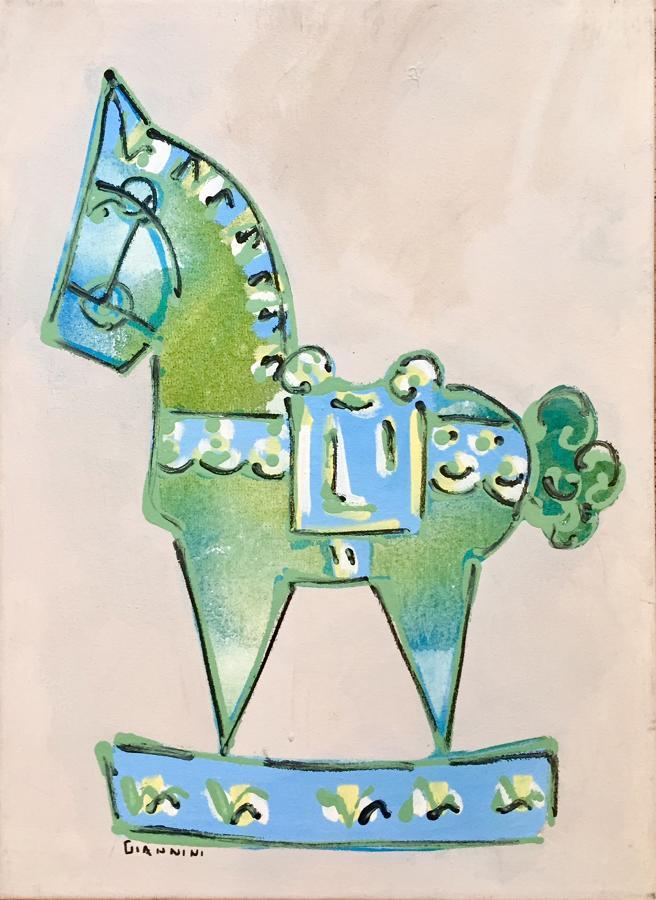 Claudio Giannini - Rocking Horse