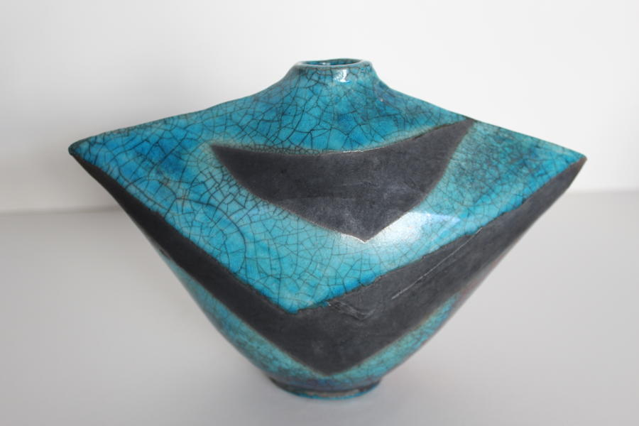 Gillian Clarke - Turquoise Bottle