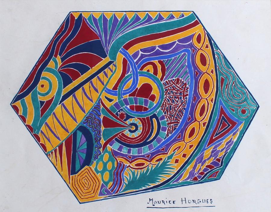 Marice Horgues - Textile Design