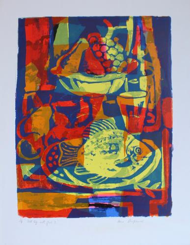 Toby Horne Shepherd - Still Life with Fish