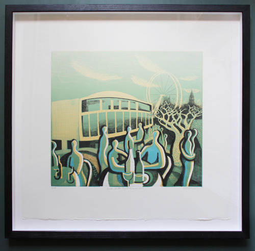 Trevor Price - Lunch at the Royal Festival Hall