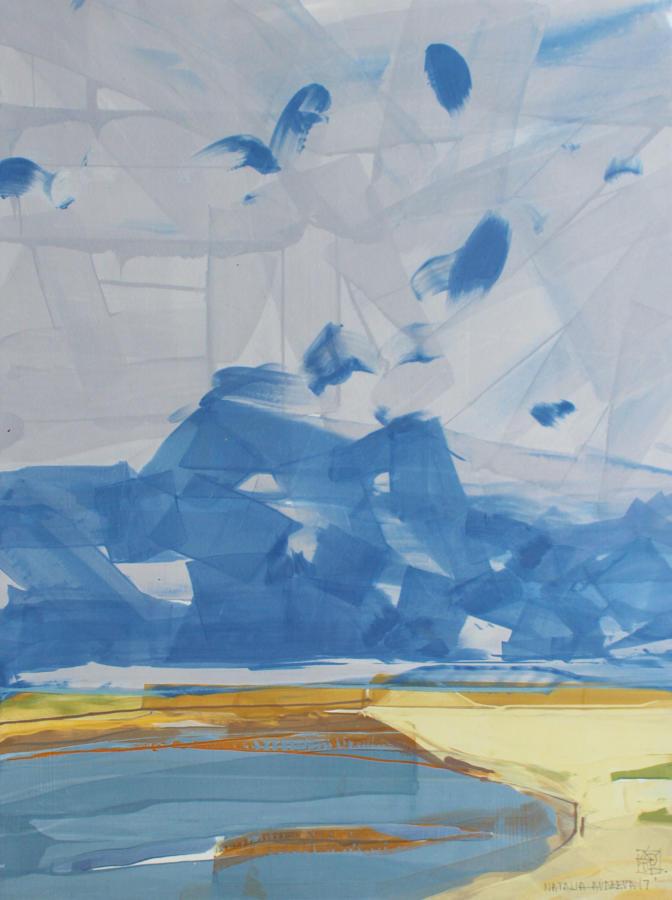 Natalia Avdeeva - Blue Skies I