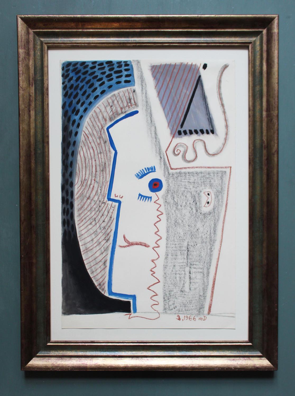 Michel Debiève - Profile in Blue