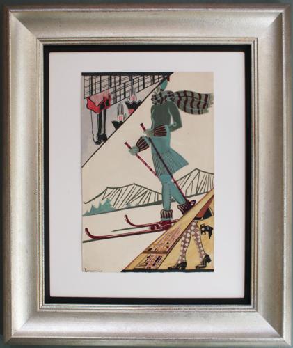 Suzanne LeCoconnier - Alpine Illustration
