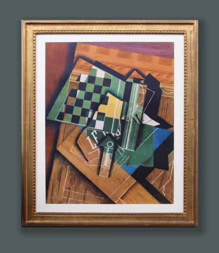 Juan Gris - The Checkerboard