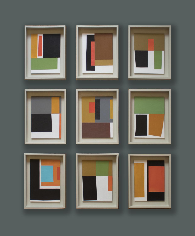 John Taylor - Nine Collages, Variant Six