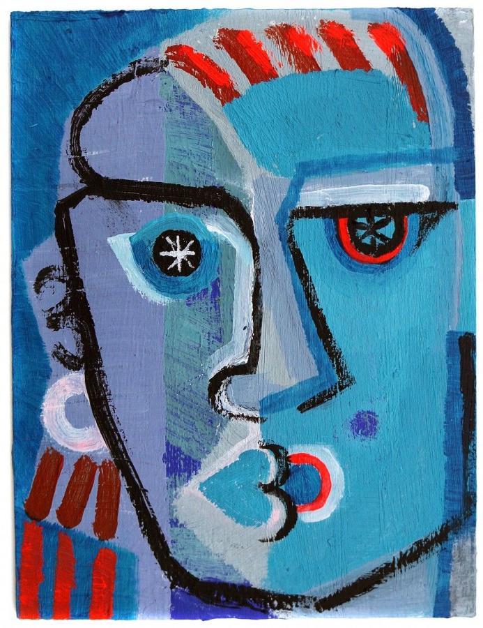 Sarah Baddon Price - Man with Stars in His Eyes