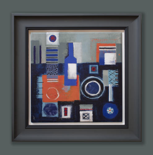 Sarah Baddon Price -Forms with Bottle