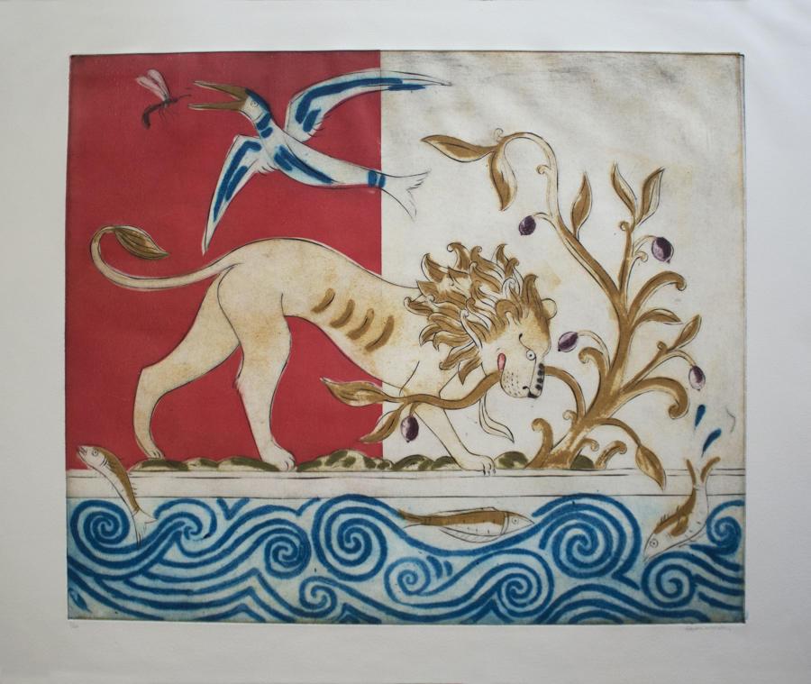 Susan Moxley - Baghdad Lion