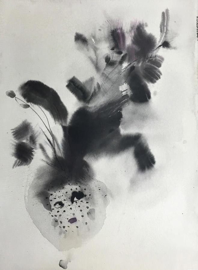 Bridget Davies - Feathers and Veil