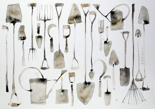 Bridget Davies - Garden Tools
