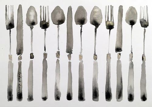 Bridget Davies - Cutlery 2