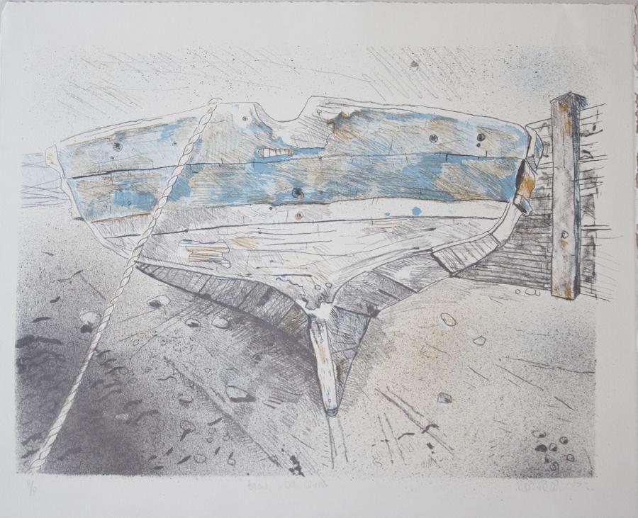 Sophie Macpherson - Boat, Loch Carron