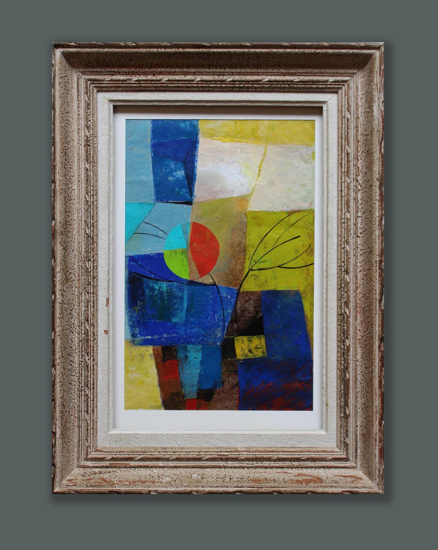 Blue Wood - Martine Mazoy