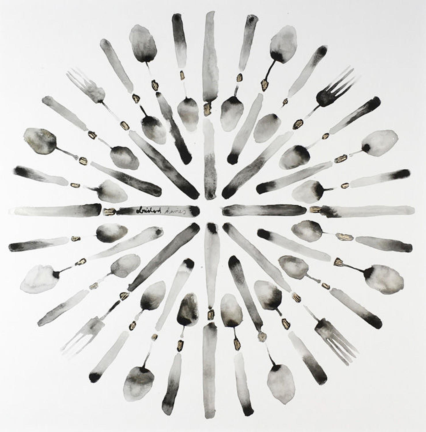 Bridget Davies - Circle of Cutlery