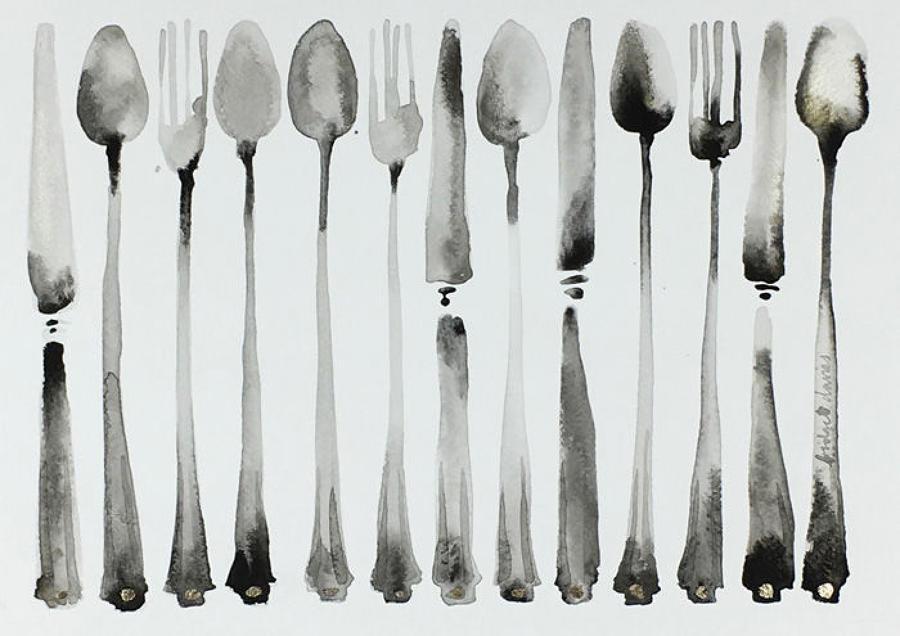 Bridget Davies - Deco Cutlery
