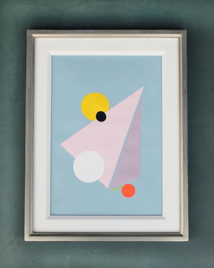 Marcio Norberto-Neon geometry3 SOLD