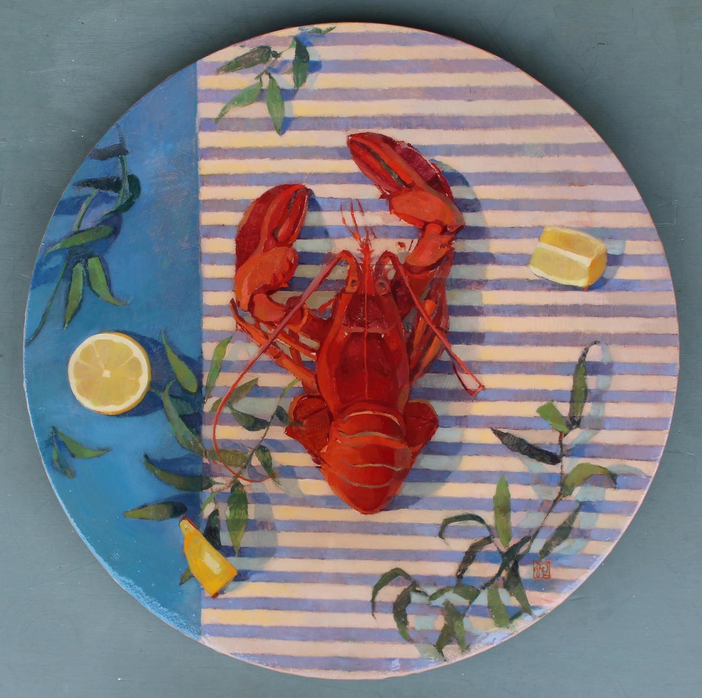 Natalia Avdeeva - A still life with a lobster