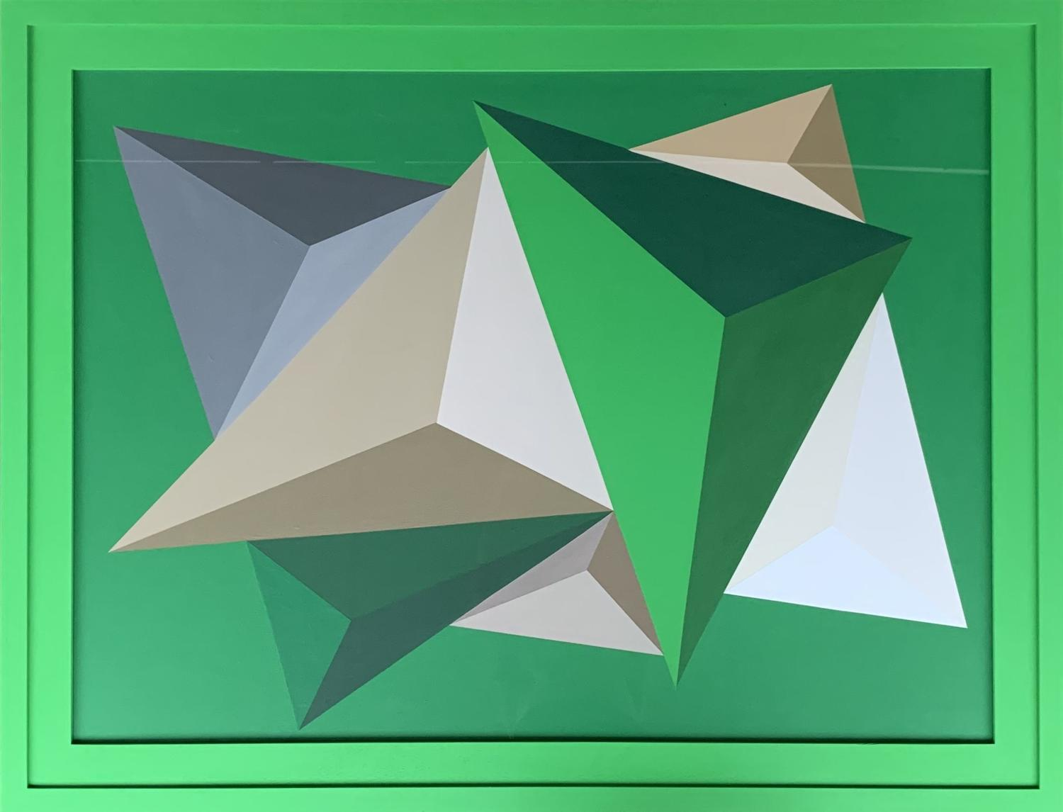 Rob Wyn Yates - Friction Emerald Green SOLD