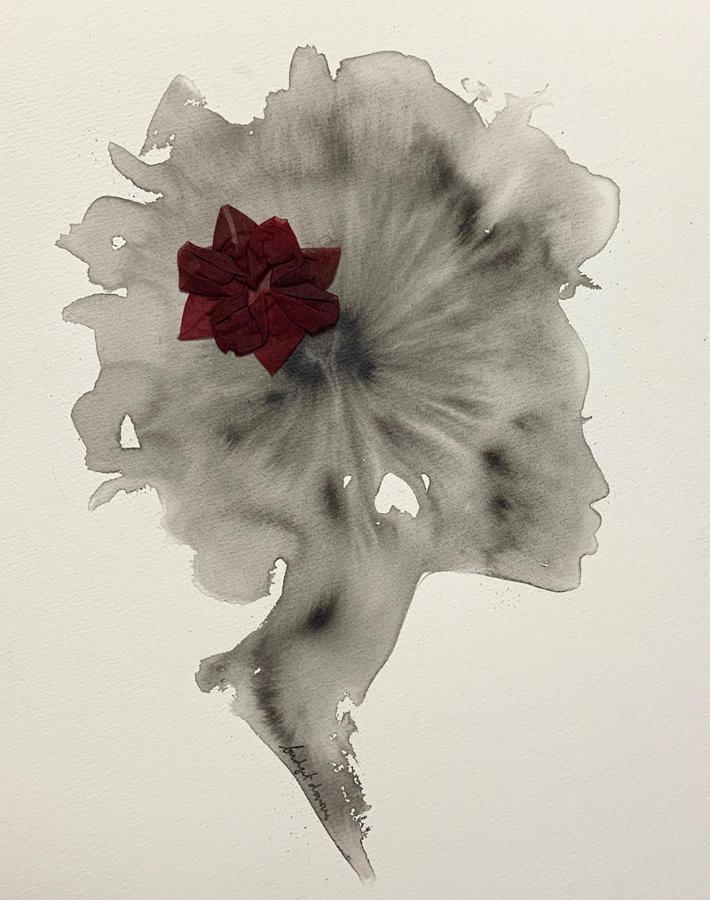 Bridget Davies - Flower Silhouette 4