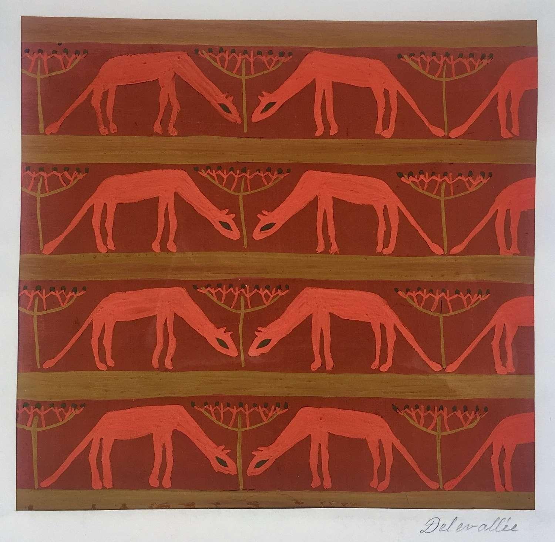 Delevallée - Fabric Design II