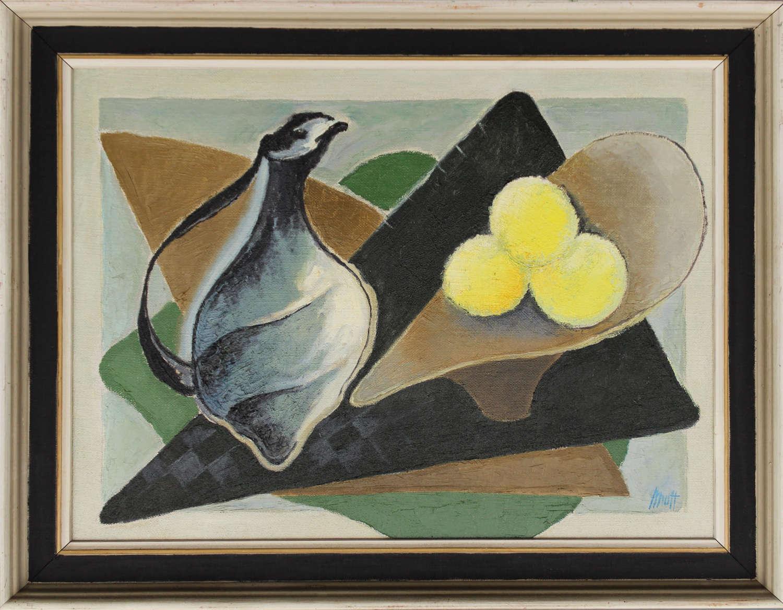 Orla Muff - Ewer with Lemons